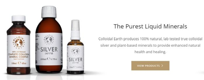 Colloidal silver was 'erased from textbooks' because cured diseases from tuberculosis to syphilis 1